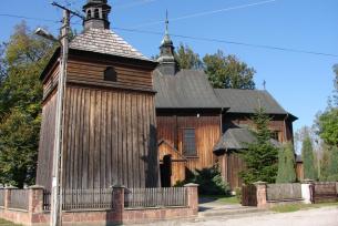 Architektura drewniana powiat kazimierski