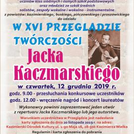 XVI Przegląd Twórczości Jacka Kaczmarskiego