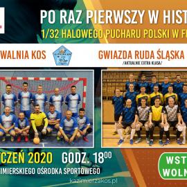 1/32 Halowego Pucharu Polski w Futsalu