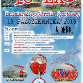 10 lat Kazimierskiego Ośrodka Sportowego