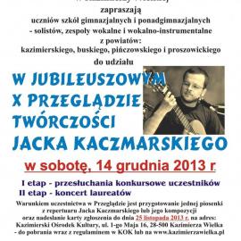 X Przegląd Twórczości Jacka Kaczmarskiego