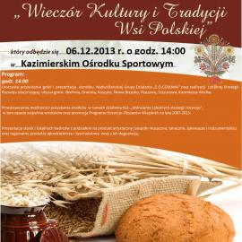 Wieczór Kultury i Tradycji Wsi Polskiej