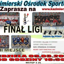 Finał Powiatowej Ligi Futsalu 2013/2014