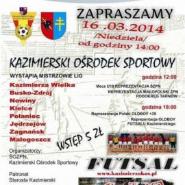 Mistrzostwa Województwa Zwycięzców Środowisk Futsalowych 2014