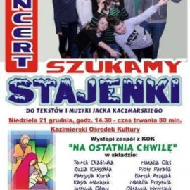 "Koncert ""Szukamy Stajenki"""