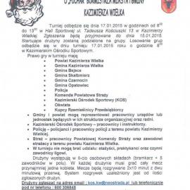 XI Turniej Mikołajkowy