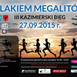 """III Kazimierski Bieg """" Szlakiem Megalitów"""""""