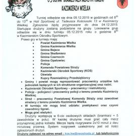 XII Turniej Mikołajkowy