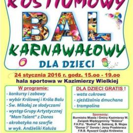 Kostiumowy Bal Karnawałowy