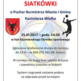 Wiosenny Turniej Siatkówki
